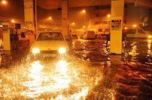 Vigo inundado