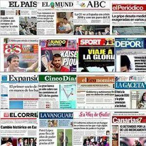 """El """"copia-pega"""" de los periódicos"""