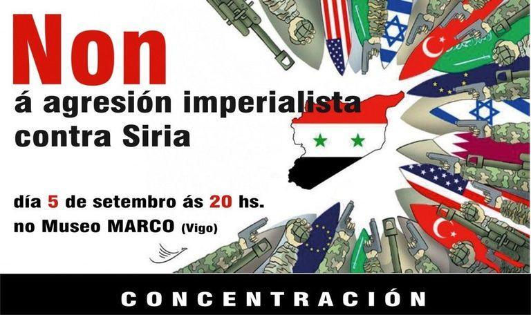 Concentración Siria Vigo