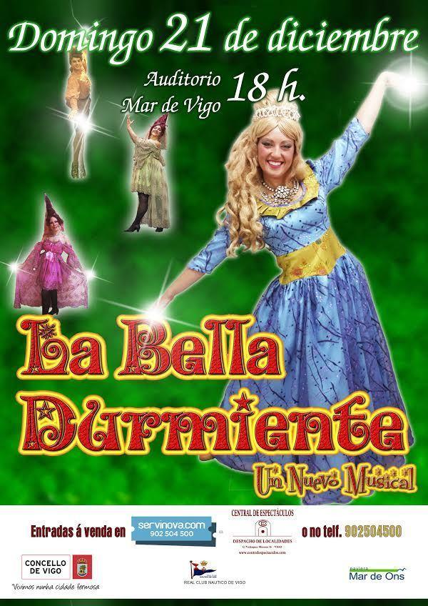21/12 – La Bella Durmiente en Auditorio Mar de Vigo