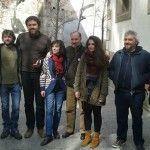 O grupo municipal da Marea de Vigo participou onte no plenario da Marea de Vigo