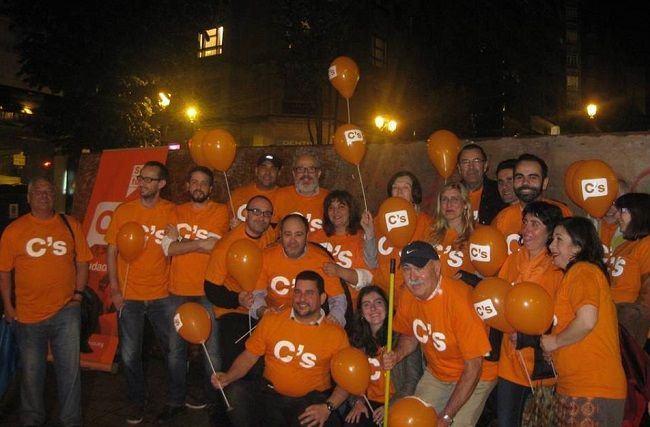 Votación y seguimiento electoral de Ciudadanos Vigo