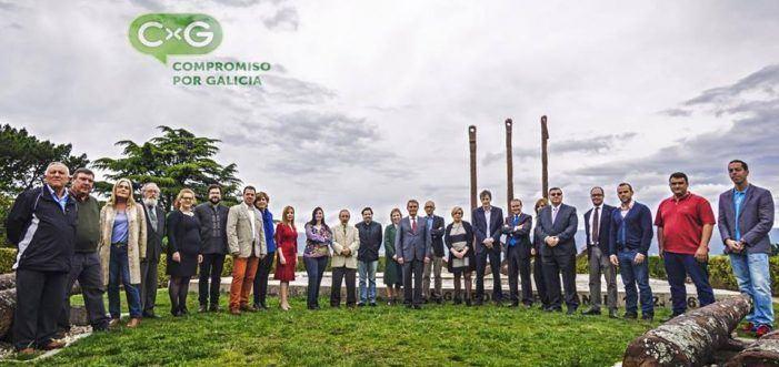 Lista de candidatos por Compromiso por Galicia (CxG)