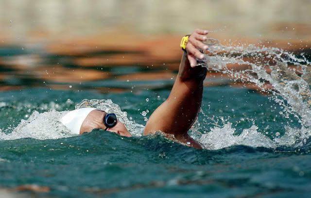 Las sensaciones de un nadador de aguas abiertas