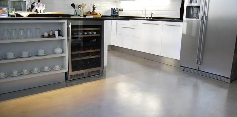 Cocinas De Microcemento | Las Ventajas Del Microcemento Alisado Noticias De Vigo