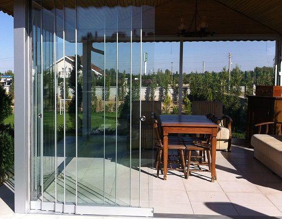 cerramientos con cortinas de cristal ecocristal