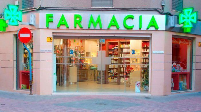 Productos de farmacia con mayor número de ventas