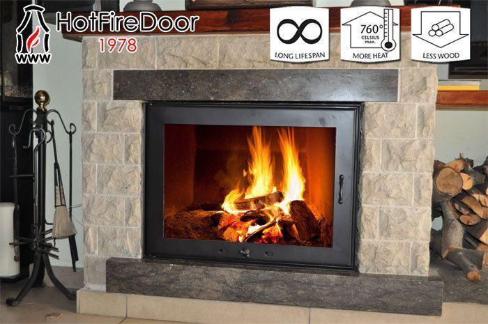 Puertas para chimeneas a medida hot fire door noticias de vigo - Puertas de vidrio para chimeneas ...
