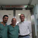 La Unidad Traumatológica de Pie del  Hospital Vithas Fátima de Vigo  implanta la primera prótesis de tobillo