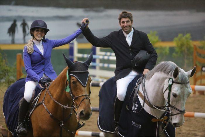 Doble triunfo de Carlos Domínguez en Oporto