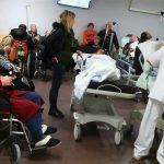O servizo de urxencias do Hospital Álvaro Cunqueiro novamente desbordado