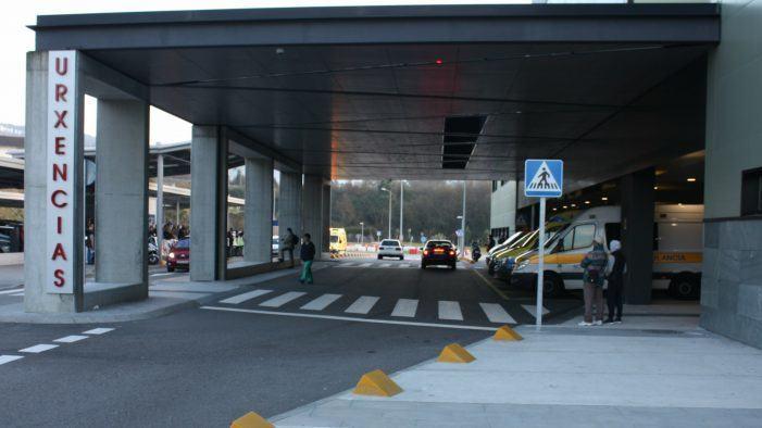 Obras no servizo de urxencias do Hospital Álvaro Cunqueiro