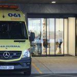 Unha nena, trasladada despois de ser atropelada por un autobús escolar en Vigo