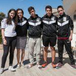 Sofía Rodríguez, jugadora del Vigo Squash, plata en el Campeonato de España sub-13