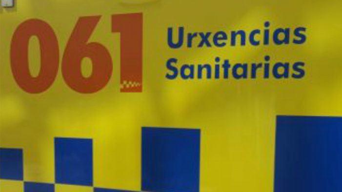 Dúas persoas feridas en Xinzo de Limia despois de colidir tres turismos