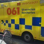 Un operario sofre unha caída desde o tellado da casa na que traballaba en Santa Comba