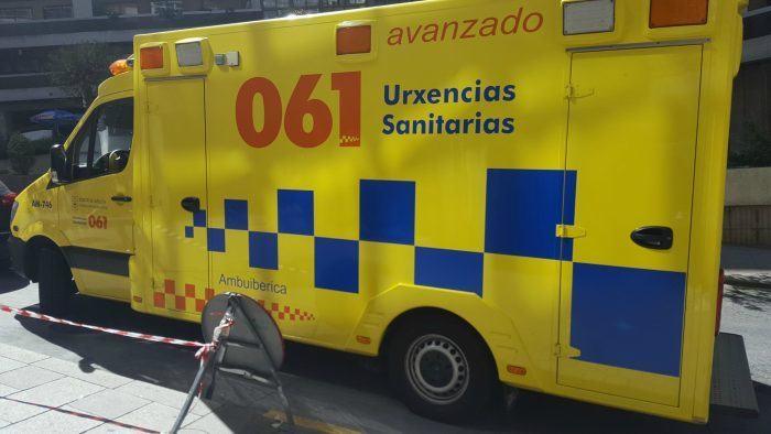 O 061-Galicia asistiu a 75 persoas por 53 accidentes de circulación durante a fin de semana