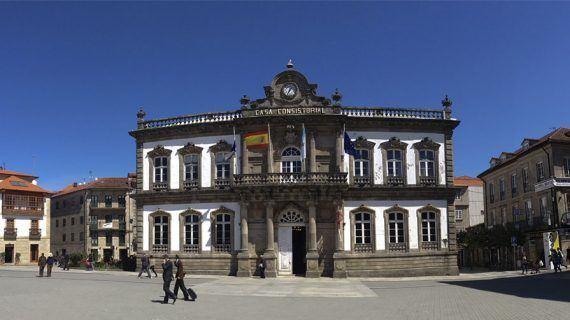 Fresado e asfaltado das rúas Rouco e Pai Amoedo do Concello de Pontevedra