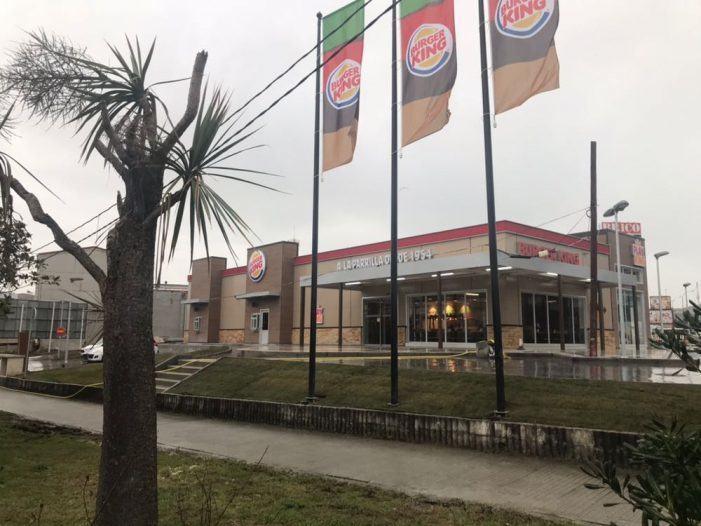 Burger King® genera 25 puestos de trabajo en A Grela con la apertura de un nuevo restaurante