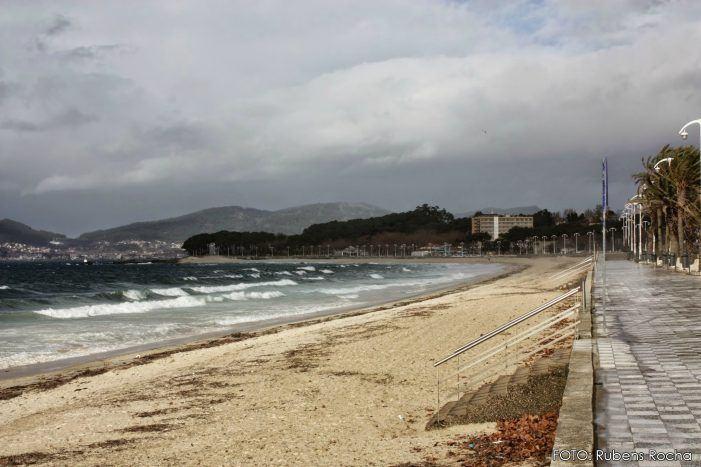 A Xunta activa a alerta laranxa por choivas no suroeste da Coruña e nas Rías Baixas