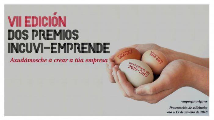 A 7ª edición dos Premios Incuvi convoca os proxectos máis emprendedores