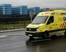 O 061 de Galicia asistiu a 45 persoas por 41 accidentes de circulación durante a fin de semana