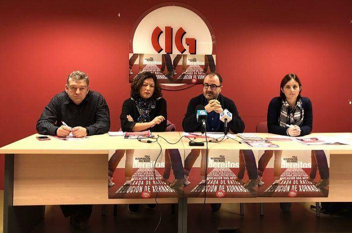 A CIG-Ensino lanza unha campaña para esixir a restitución de dereitos do profesorado