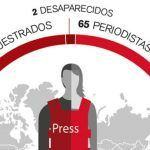 O Balance Anual de Reporteiros sen Fronteiras documenta 65 asasinatos de xornalistas no 2017