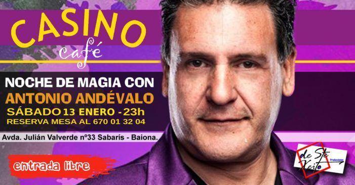 Noche de Magia con Antonio Andévalo Sabarís