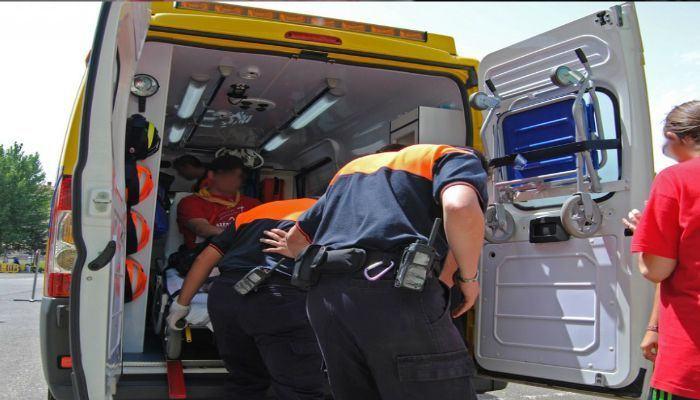 O 061 de Galicia asistiu a 22 persoas por 17 accidentes de circulación durante a fin de semana