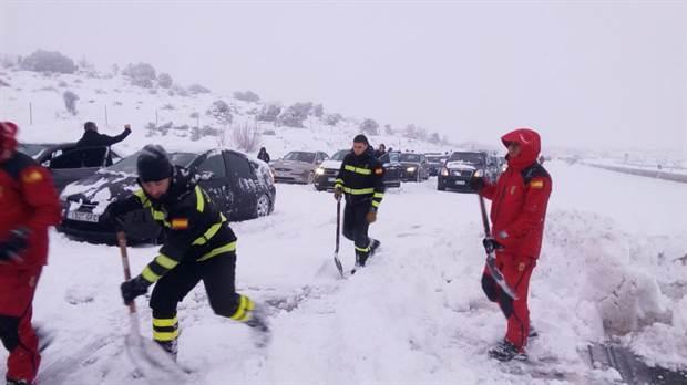 CESM Galicia expresa su reconocimiento apoyo y solidaridad a los facultativos que han trabajado bajo los efectos del temporal