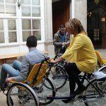 """O goberno de Carmela Silva incorpora duas bicicletas adaptadas ao programa Depocomparte """"para avanzar aínda máis na nosa aposta pola inclusión"""""""