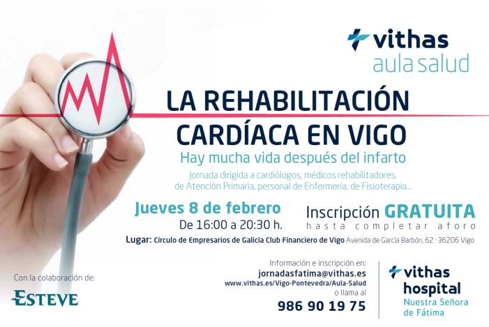 El Hospital Vithas Nuestra Señora de Fátima organiza una jornada sobre rehabilitación cardiaca