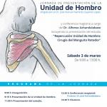 El Hospital Vithas Nuestra Señora de Fátima dedica una jornada a la patología de hombro