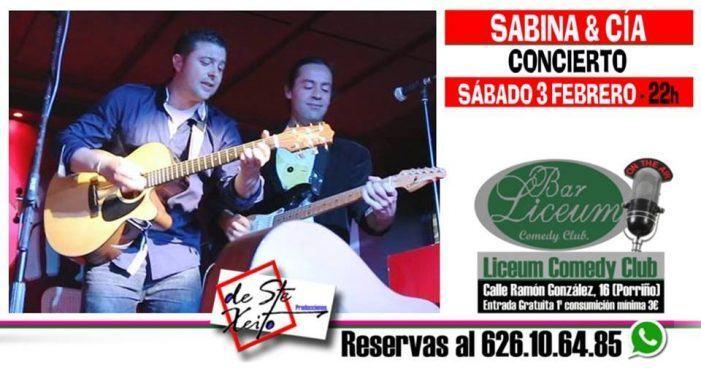 Concierto de Sabina&Cia en Porriño