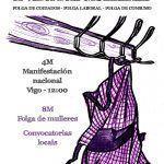 Vigo acollerá a manifestación nacional do Día das Mulleres o vindeiro domingo 4 de marzo.