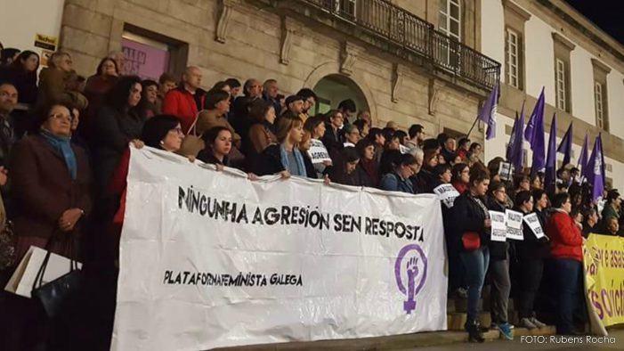 As mulleres da Plataforma Feminista Galega iremos á Folga Xeral Feminista o 8 de marzo