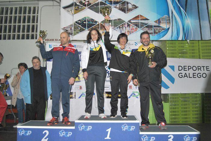 El club piragüismo Cambados se lleva el V Trofeo concello de rianxo de Kayak de Mar