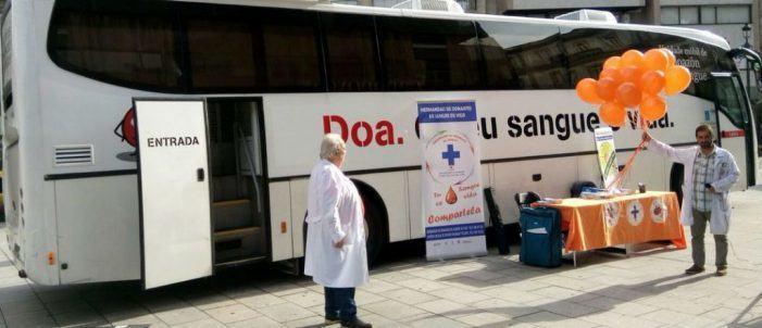O mércores unha Unidade da Axencia Galega de Sangue, Órganos e Tecidos (ADOS) estará no Porriño