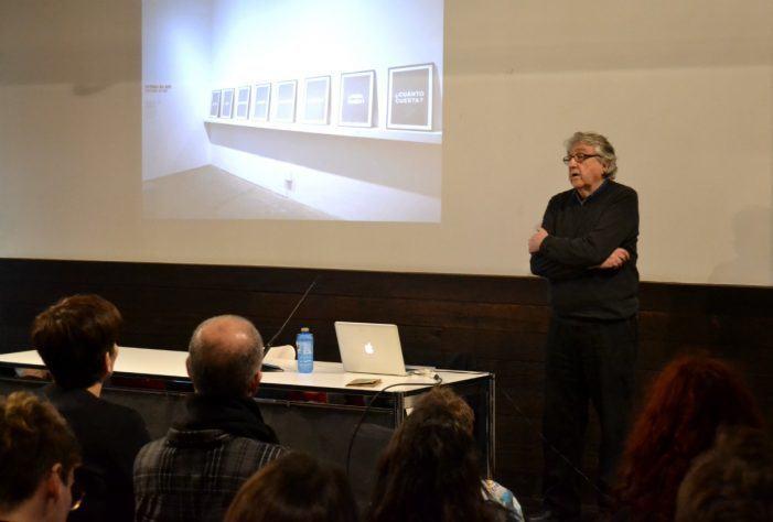 Un ciclo de conferencias afonda na importancia dos procesos de investigación na creación artística