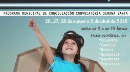 Plan Municipal de Conciliación para Semana Santa 2018 Redondela