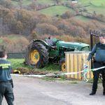 Un home falece en Coristanco nun accidente co tractor que manexaba