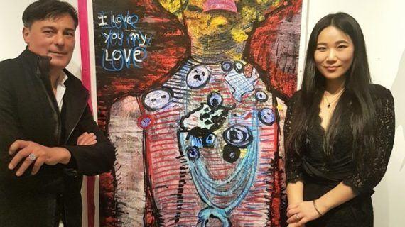 New York recibe de nuevo al pintor de Vigo Franck Sastre en Agora Gallery