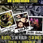 Concierto solidario con el pueblo Saharaui en la Fabrica de Chocolate en Vigo