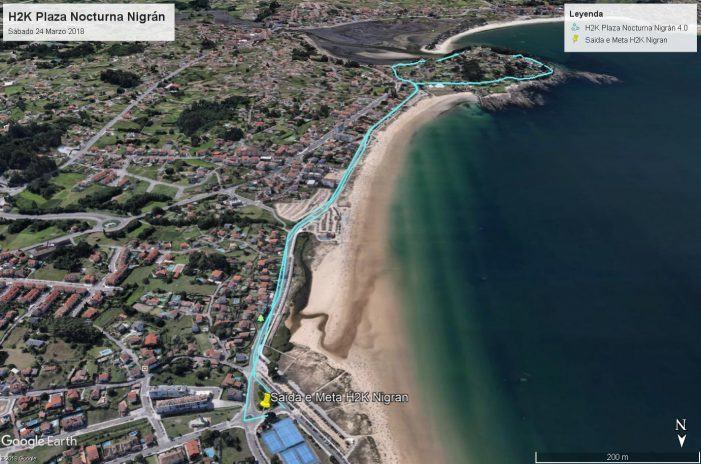 La H2K cambia su recorrido y se disputara en Playa América
