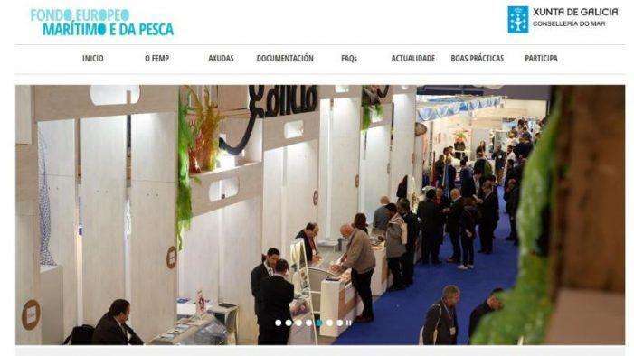 A Xunta pon en marcha unha páxina web para difundir entre os axentes do sector as axudas do Fondo Europeo Marítimo e de Pesca
