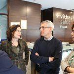 El centenar de socios de Down Pontevedra tendrán condiciones ventajosas en Vithas Salud Fisium