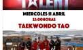 O 11 de abril, o Tao de exhibición participa na final de Got Talent