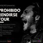 Maneiro remata su 'Prohibido rendirse tour'
