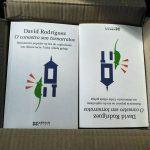 """Presentación en Vigo de """"O canastro sen tornarratos"""" de David Rodríguez na Libreria Cartabón"""